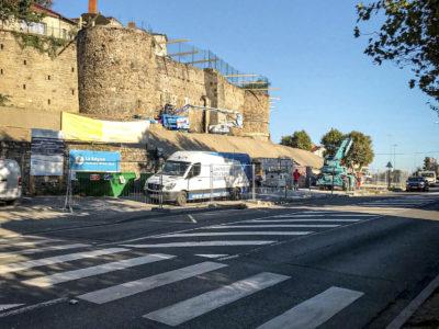 Image absente - [MONTBRISON] Confortement et restauration des remparts de Montbrison (42)