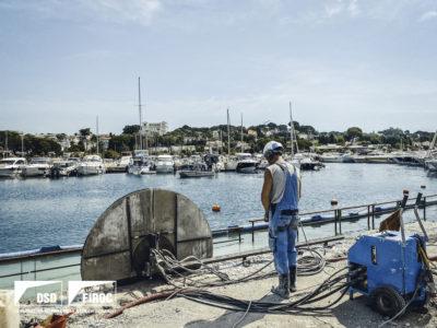Image absente - [ANTIBES] Travaux de réaménagement du Quai de la Jetée au Port Gallice à Antibes