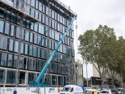 Image absente - [BAGNEUX] Démolition d'un bâtiment prototype d'un ensemble immobilier à usage de bureaux