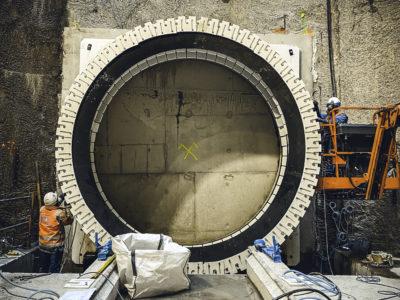 Image absente - [RTE ILE DE FRANCE] Le Réseau de Transport d'Electricité met en souterrain 4 lignes électriques surplombant les communes de Saint-Denis, l'Île Saint-Denis (93) et Villeneuve la Garenne (92).