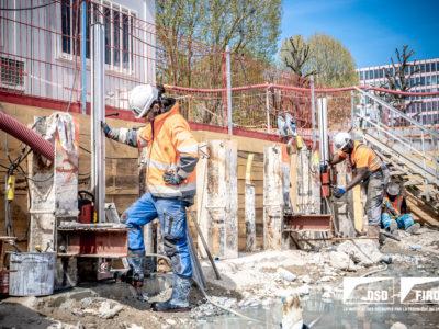 Image absente - [BOULOGNE BILLANCOURT] Ouvrage annexe du futur métro Ligne 15 du Grand Paris Express.